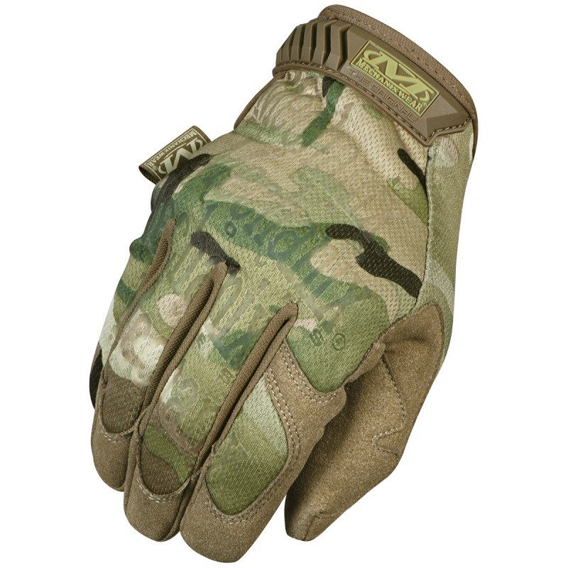 guantes Mechanix Original Multicam