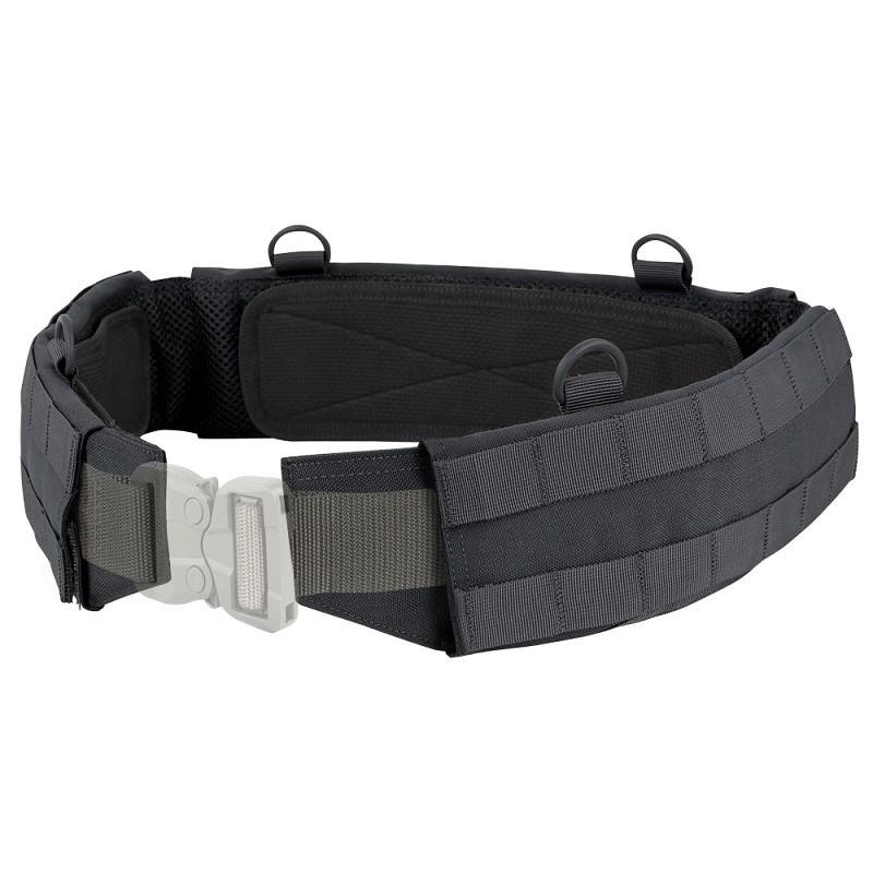 Cinturón portaequipo en negro