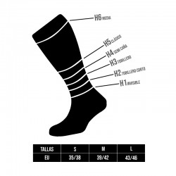 Tallas calcetines Lurbel