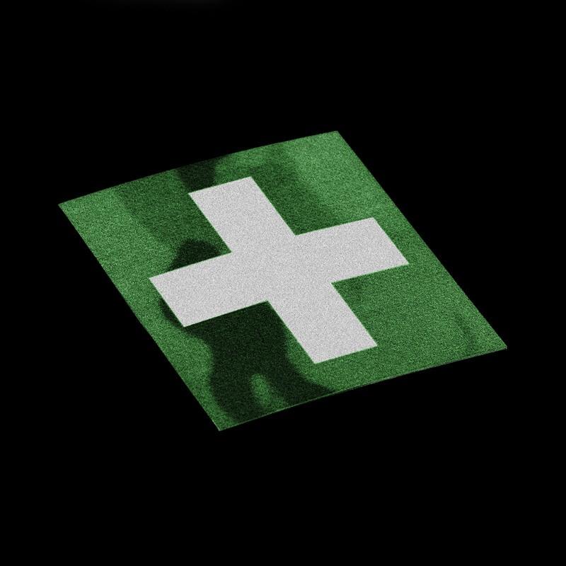 Parche Cruz Roja IR