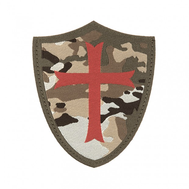Parche multicam Cruz Templaria