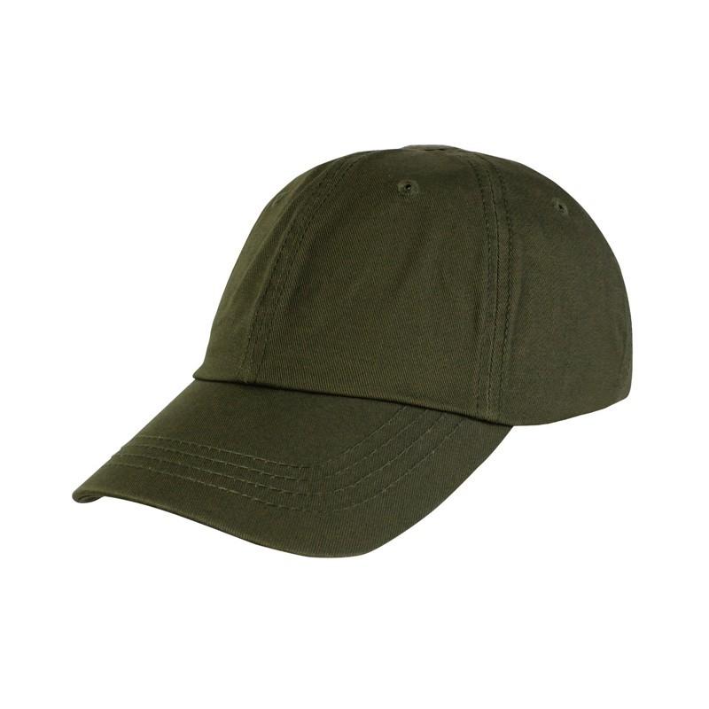 Gorra militar en verde