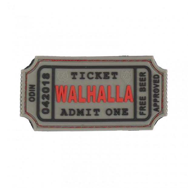 parche ticket del Valhalla