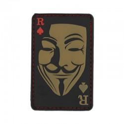 Parche máscara Guy Fawkes