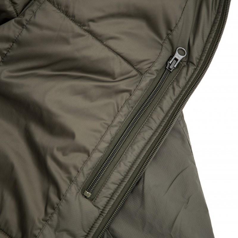 detalles chaqueta verde LIG 4.0