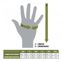 Tallas guantes MTP