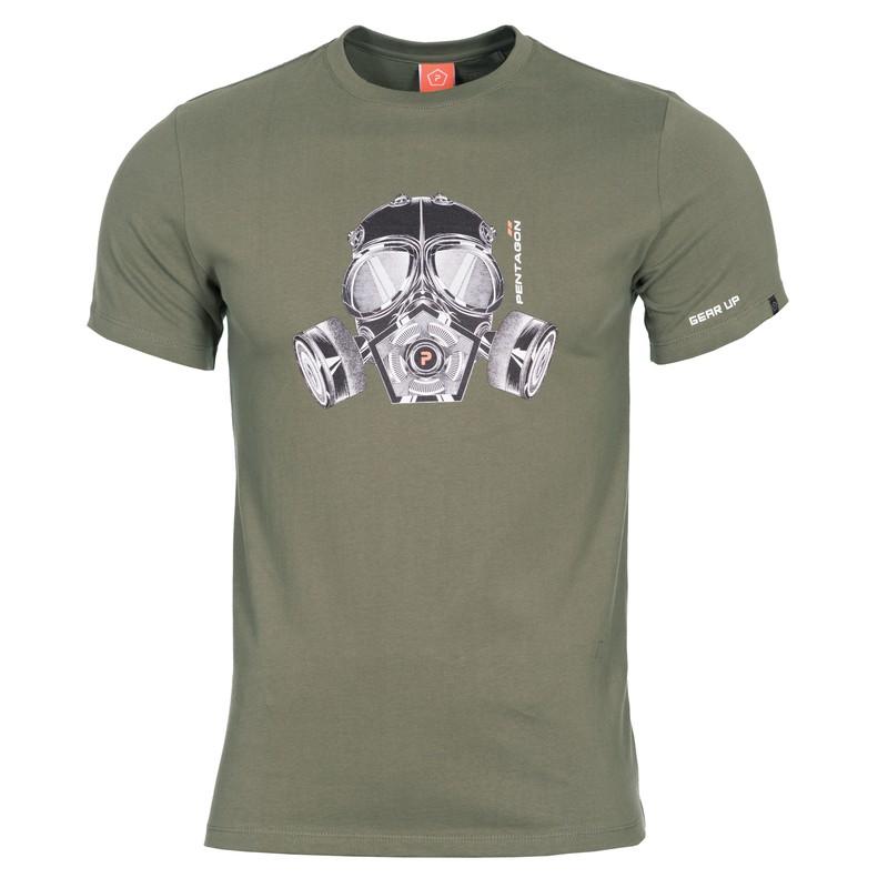 Camiseta máscara de Gas