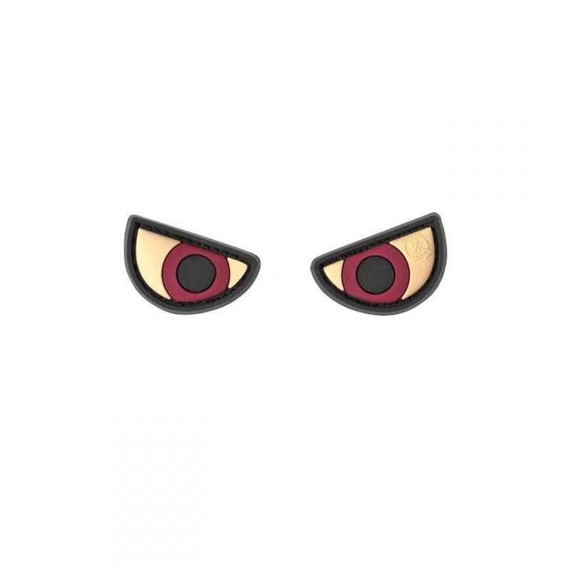 parches de ojos enojados