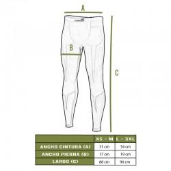 Tallas pantalón Plexis