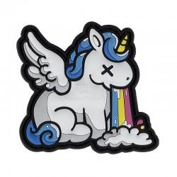 Parche unicornio intoxicado