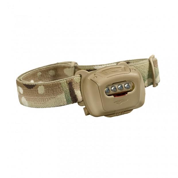 Linterna frontal Quad Tactical MPLS