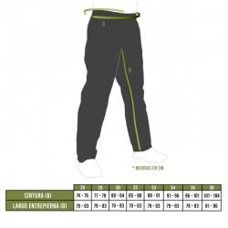 Tallas pantalones UF PRO