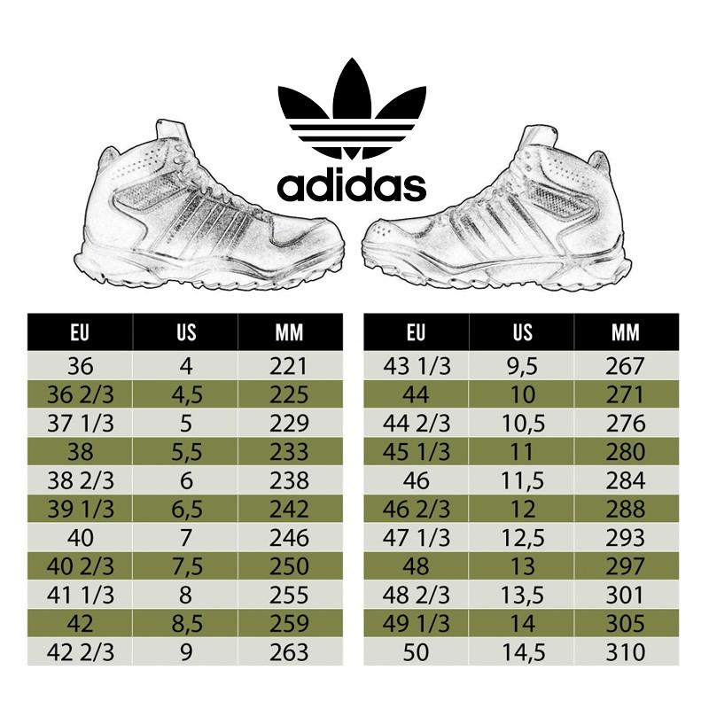 Tabla tallas Adidas