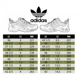 Tabla tallas zapatillas Terrex Adidas