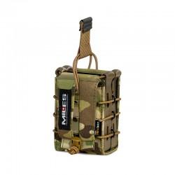 Portacargador doble rifle Pentagon Multicam