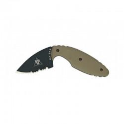 Cuchillo TDI Original Half-Serrated