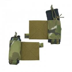 Bolsillos elásticos para portaplacas