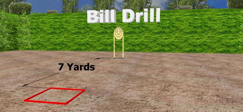 Bill Drill- ejercicio tiro 2