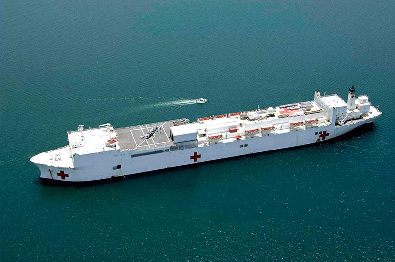 Barco apoyo sanitario