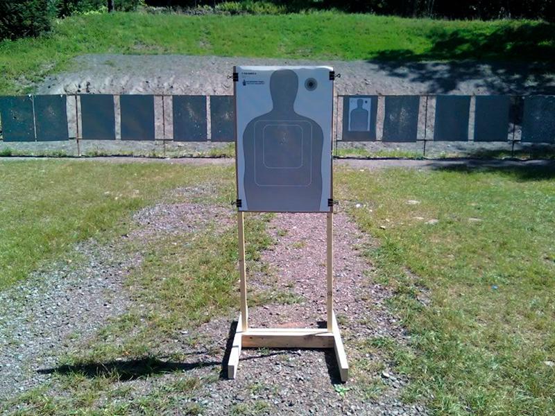ejercicio con arma corta