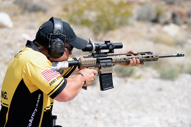 entrenamiento de tiro