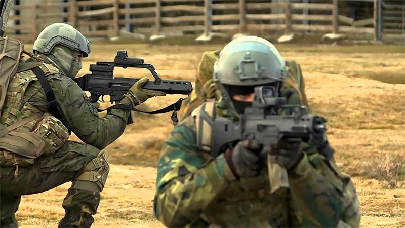 Rifle standards drills