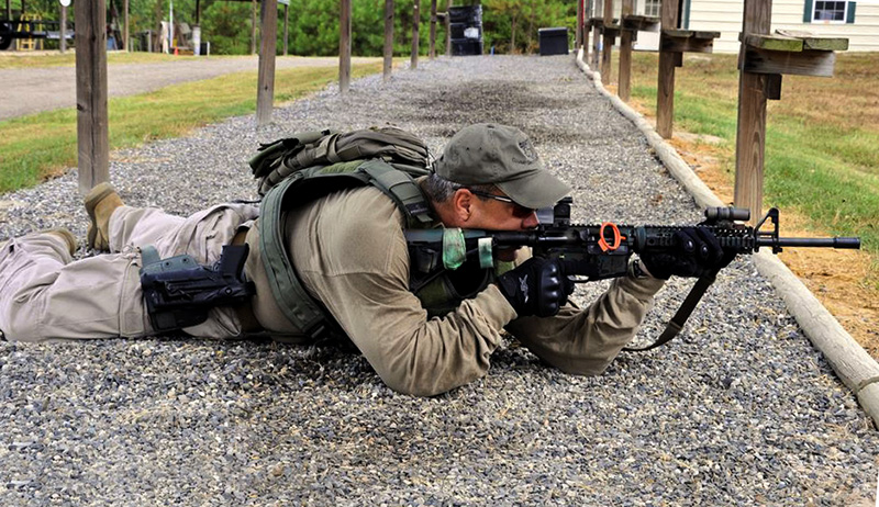 disparo con rifle