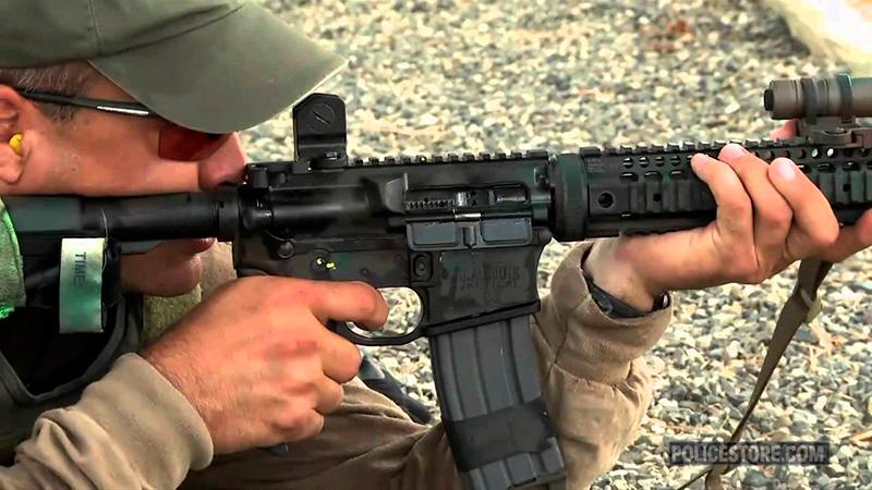 entrenamiento rifle