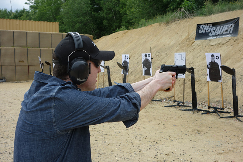 entrenamiento arma corta