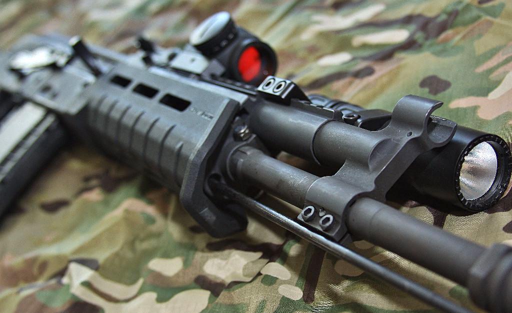 configuración Scout de los rifles