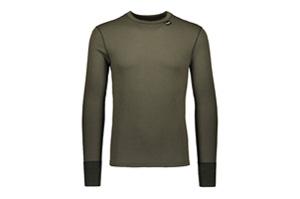 Camisa interior térmica de lana merina