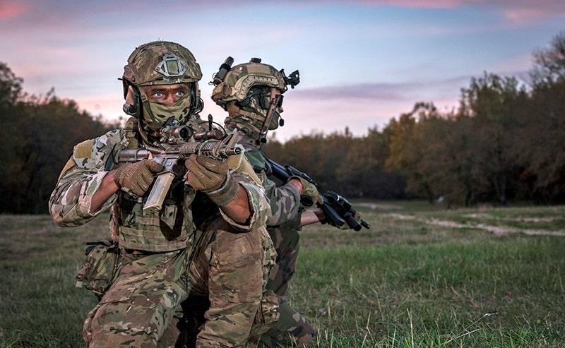 entrenamiento militar y policial