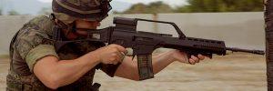 retícula del fusil de asalto HK G36