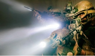 Sección iluminación : linternas tácticas, linternas profesionales