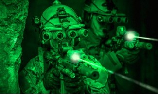Equipos de visión nocturna. Monoculares, prismáticos y visores.